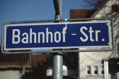 Titel Bahnhofstrasse