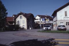 Obere Bahnhofstrasse mit Tankstelle imHG