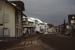 (Obere) Bahnhofstrasse (Winter, bewölkt)