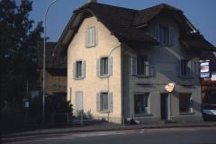 Bahnhofstr 1, Coiffeursalon Helene, ehem Schuhmacherei Umiker