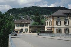 Bahnhofbrücke, Bahnhof und ,Resti'