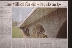 Bahnhofbrücke ,Eine Million für ein Prunkstück'