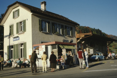 Bahnhof und Kiosk