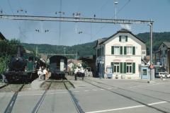 Bahnhof frisch renoviert, Grossbuchstaben wie früher