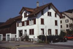 Haus + ehemaliger Laden Buchmann Nähmaschinen, Baumastr. 4