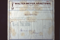 Walter Meyer, Dorgerie, Fortuna Rechnung für Kirchengutsverwaltung
