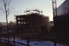 Neubauten ausgangs Dorf