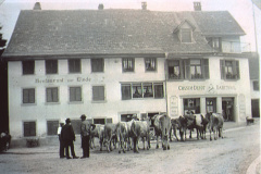 ,Der letzte Viehmarkt auf dem Lindenplatz'
