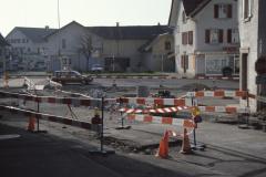 Neugestaltung Lindenplatz 1988