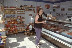 In der Dorfmetzg Kundin Susanne Kaiser