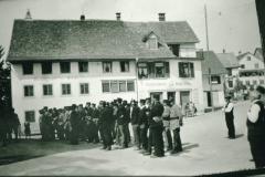 Dorfplatz, Linde, Feuerwehr