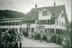 Dorfplatz 1. Augustfeier