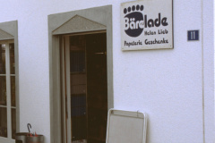 Papeterie Bäre Lade, geschlossen 31.08.2002