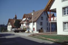 Gupfstr, Friedenskirche mit den neuen Liegenschaften