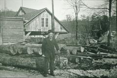 Mühle, Säge (in Betrieb bis ca. 1930)