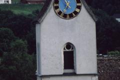 Ref. Kirche Turm vom Lettenberg aus