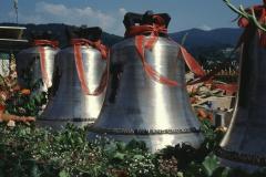 Kath. Kirche Glocken gegossen 16.3.1990
