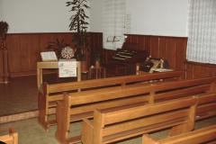 Friedenskirche Gottesdienstraum