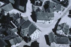 Luftaufn. Swissair Detail Dorfmitte