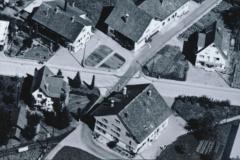 Luftaufn. Swissair Detail alter Bären