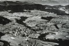 Luftaufn. Postkarte neuer Friedhof