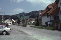 Blick vom Bahnhof Rtg Ochsen + Kirche