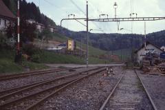 Bahnhof Blick gegen Osten