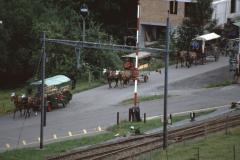 Blick vom Ende der Lettenbergstr Rtg Bahnhof