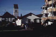 Kirche mit Neubau and der Kirche, Adetswilerstr