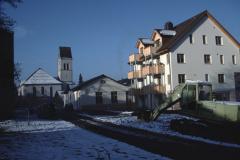 lk Hico Block, Kirche, Werkstatt Vanella, Wohnhaus