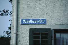 Tafel Schulhausstrasse