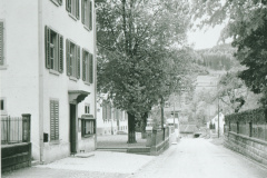 Schulhausstr, lk Altes Primarschulhaus - Blick Rtg Ochsen