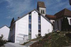 Kirchgemeindehaus, von Liegenschaft Wälty aus