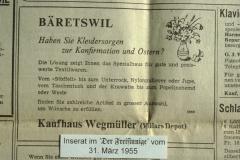 Kaufhaus Wegmüller