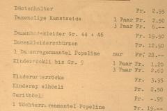 Prospekt Kaufhaus Wegmüller