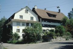 alte Bettswilerstr - Hüttenstr, ehem Sek.Schulhaus, rechts ehem. Major Bünzli