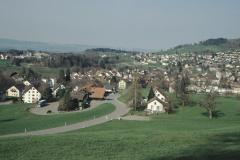 Blick auf Waswies und Dorf