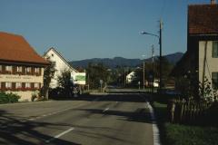 Schürli, Restaurant, Blick Rtg Dorf