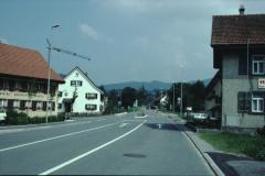 Beim Rest. Schürli, Blick Rtg Dorf
