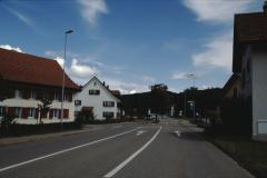 Das ehemalige Rest. Schürli am Dorfeingang