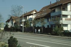 Neubauten neben dem Restaurant
