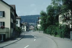 Blick gegen Dorfmitte