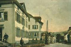 vl alte (Haus Schärer) und uralte Post (Haus Raths)