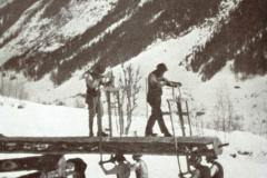 Diaschau 1, Handsägerei im Lötschental 1935