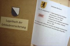 Diaschau 1, Lagerbuch Gebäudeversicherung 1881