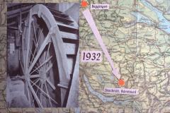 Diaschau 1, Ersetzen des Wasserrads 1932