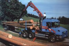 Diaschau 2, Abtransport von Holz (Scania)