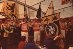 Männerturntag, Fahnenweihe, die neue Fahne