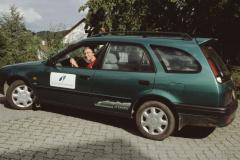 Spitex Verein, Spitex Auto mit Frau Willemer