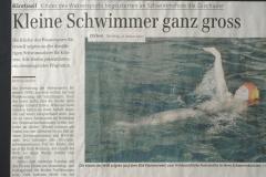 ZO. Kleine Schwimmer ganz gross